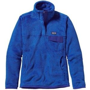 Blue Patagonia pull over